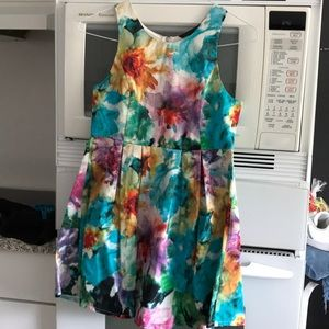 Felicity & Coco Colorful Floral Dress